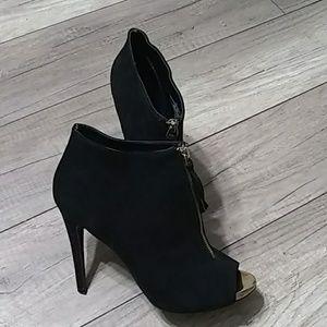 Mossimo High heel open toe Booties sx 9